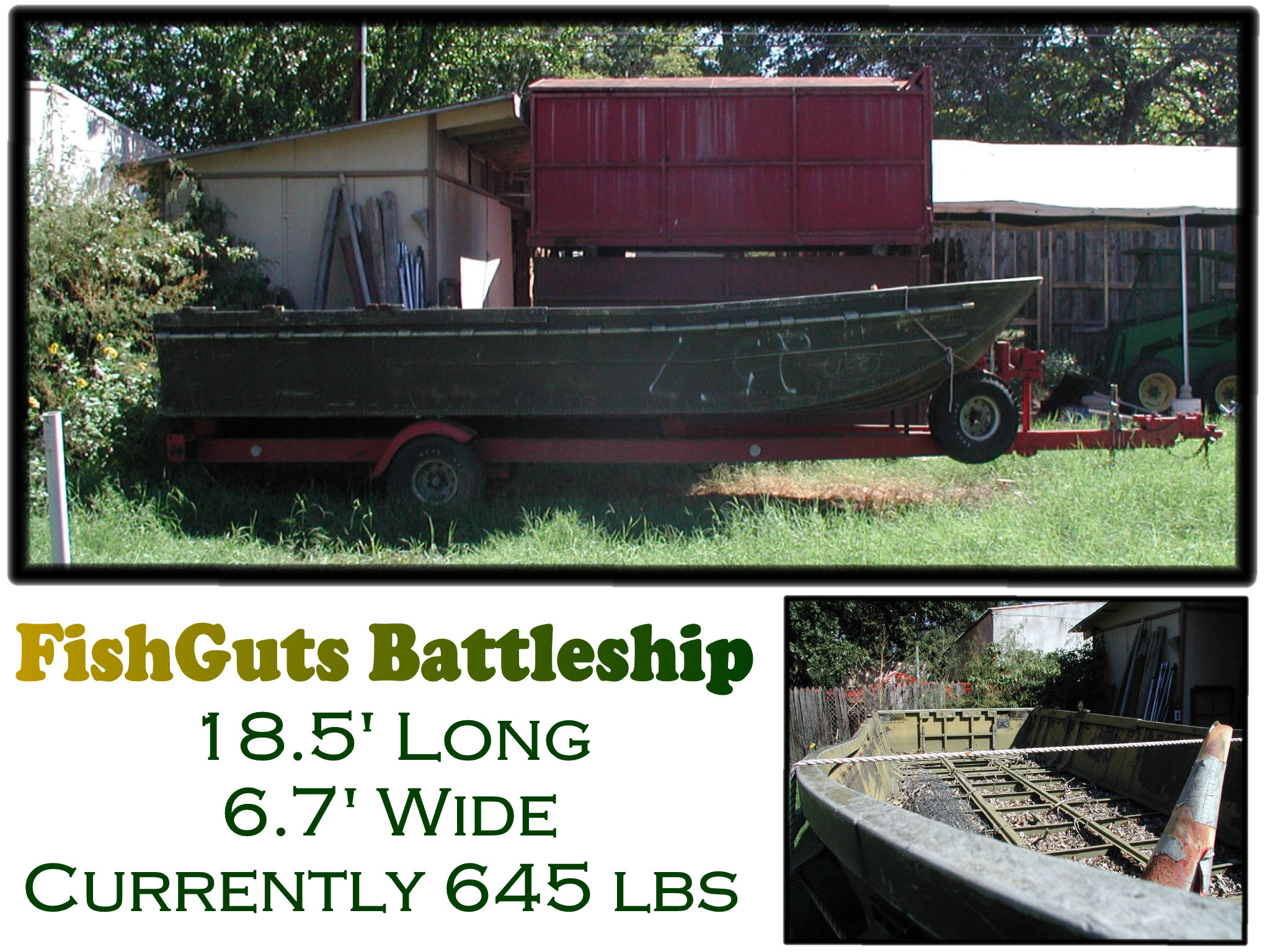UgliBoats - Home for Retired Military Boat Enthusiasts
